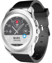 MYKRONOZ ZeTime Original - Hybride Smartwatch - Mit mechanischen Zeigern - Schwarz/Silber