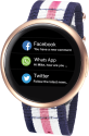 MYKRONOZ ZeRound2HR Premium - Smartwatch - Bluetooth - Rosegold