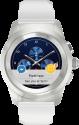 MYKRONOZ ZeTime Original - Hybride Smartwatch - Mit mechanischen Zeigern - Weiss/Silber