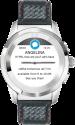 MYKRONOZ ZeTime Premium Regular - Smartwatch - Bluetooth - Silber/Rot