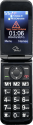 SWITEL M800 - Téléphone mobile - Dual-LCD-Display - Noir