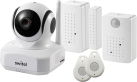 Switel BSW 220 Smart Home Security Kit - Camera Wifi con sensori di allarme per la casa - 720p - bianco
