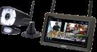 SWITEL HSIP 6000 - Sistema video wireless - Con telecamera esterna - Nero