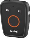 SWITEL Vita SOS CT 8 - Comunicatore di sicurezza mobile - Compatibile con smartphone - Nero