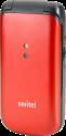 SWITEL M215 - Seniorenhandy - mit Verstärkung - Rot