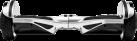 SOFLOW Flowpad 2.0 - Balance Board - Max. 15 Km/h - Silber