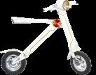 Flowpad Flowbike - Elektro Roller  - 20 km/h - weiss