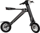 Flowpad Flowbike - Elektro Roller  - 20 km/h - schwarz