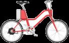 SOFLOW YunBike C1 Women - E-Bike - Autonomie: 0 - 75 km - Rouge
