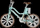 SOFLOW YunBike C1 - E-Bike - Vitesse maximale de 25 km/h - Menthe verte