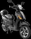 Vespino City Electro Scooter - 25 km/h - black matte
