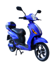 Vespino City Electro Scooter - 25 km/h - blau matt