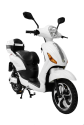 Vespino City Electro Scooter - 25 km/h - weiss