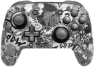 Epic Skin Nintendo Switch Pro Controller Skin 3M - Stickerbomb Black/White - Noir/Blanc