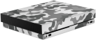 Epic Skin Xbox One X 3M - Camouflage Grey - Grau/Weiss