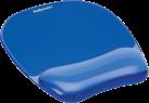 Fellowes Gel Crystal™ - Tapis de souris repose poignet - Bleu