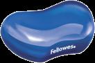Fellowes Gel Crystal™ - Mini repose-poignet - Bleu