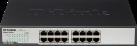 D-Link DGS-1016D - Gigabit Switch - 16-Port - Schwarz