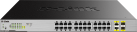 D-Link DGS-1026MP - Switch - 26 Port - Schwarz