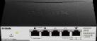 D-Link DGS-1100-05PD - Switch - 5-Port - Schwarz