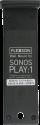 FLEXSON Befestigungskit für Sonos PLAY:1, schwarz