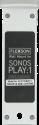 FLEXSON Kit de montage pour Sonos PLAY:1, paire, blanc