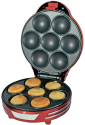 Ariete 188 Party Time Muffin Cupcake - Cupcake-Maker - 700 Watt - Rot