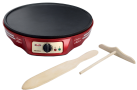 Ariete PARTY TIME Crepes Maker - Crêpe-Geräte - 1000 W - Rot