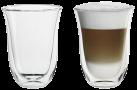 De'Longhi Latte Macchiato - doppelwandige Thermogläser