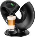 De'Longhi NESCAFÉ Dolce Gusto ECLIPSE - Kaffeekapselmaschine - 15 bar - Brushed Black Metal