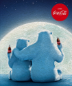 Coca-Cola Moon - Coperta in pile
