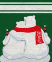 Coca-Cola Bears - Couverture polaire