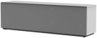 meliconi MyTv Stand 16040F Textile - Mobile per schermo piatto - Con pannello frontale in tessuto permeabile ai raggi infrarossi - Bianco