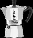 BIALETTI La Mokina - Macchina per il caffè - 0.5 l - Argento