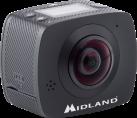 MIDLAND H360 - Videokamera - 4.5 MP - Schwarz