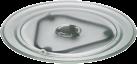 Wpro Drehteller aus Glas, VIP 34, Ø 36.2 cm