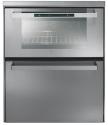 CANDY DUO 609 X - Backofen / Geschirrspüler - Energieeffizienzklasse A - Fassungsvermögen (Massgedecke) 6 - Grau