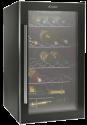 CANDY CCVA 155 GL Weinschrank rechts - Energieeffizienzklasse A - Nutzinhalt Total 117 Liter - Schwarz