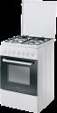 CANDY CCG 5000 SW/1 - Kochherd freistehend - Energieeffizienzklasse: A - 4 Gas-Kochzonen - Weiss