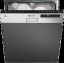 CANDY CDSM 2D62X - Lave-vaisselle semi intégrable - Capacité: 16 sets - acier inox