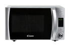 CANDY CMXG 25D CS - Mikrowelle mit Grill - 900 W - Timer bis 95 Minuten - Silber