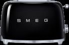 smeg 50's Retro Style - Toaster - 2 Scheiben - Schwarz
