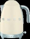 smeg 50's Retro Style - Wasserkocher - Mit variablen Temperaturen - Creme