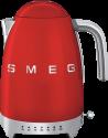 smeg 50's Retro Style - Wasserkocher - Mit variablen Temperaturen - Rot