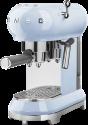 smeg 50's Retro Style - Espresso-Kaffeemaschine - Mit Edelstahl-Siebträger - Blau
