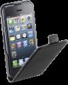 cellularline Étui à rabat en simili cuir - pour iPhone 5 - noir