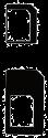 cellularline Kit d'adaptateurs de carte SIM