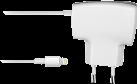cellularline Reiseladegerät - mit Lightning-Anschluss - weiss