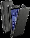 cellularline Flap Essential - LUMIA 620 - Schwarz