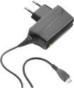 cellularline Wall Charger - MicroUSB - Schwarz
